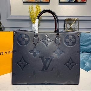 Louis Vuitton onthego empreinte navy
